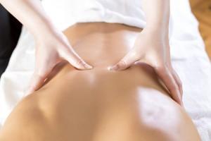 massage du dos au cabinet amassae à Cahors